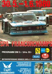01.06.1980 - Spa-Francorchamps