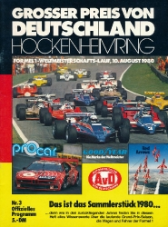 10.08.1980 - Hockenheim