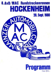 20.09.1980 - Hockenheim