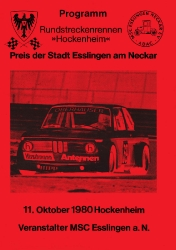 11.10.1980 - Hockenheim
