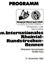 15.11.1980 - Hockenheim