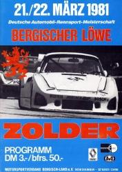 22.03.1981 - Zolder