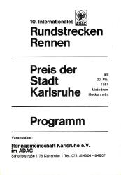 30.05.1981 - Hockenheim