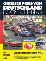 02.08.1981 - Hockenheim