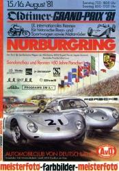 16.08.1981 - Nürburgring