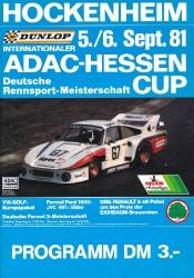 06.09.1981 - Hockenheim
