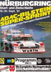 20.09.1981 - Nürburgring