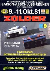 11.10.1981 - Zolder