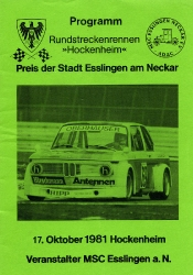 17.10.1981 - Hockenheim