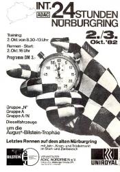 03.10.1982 - Nürburgring