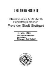 12.03.1983 - Hockenheim