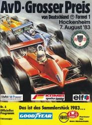 07.08.1983 - Hockenheim