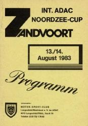 14.08.1983 - Zandvoort