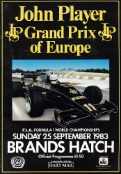 25.09.1983 - Brands Hatch