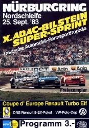 25.09.1983 - Nürburgring