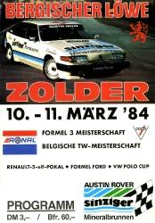 11.03.1984 - Zolder