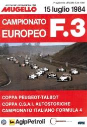 15.07.1984 - Mugello