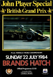 22.07.1984 - Brands Hatch