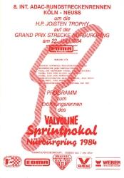 22.07.1984 - Nürburgring