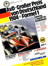 05.08.1984 - Hockenheim