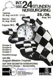 26.08.1984 - Nürburgring