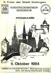 06.10.1984 - Hockenheim