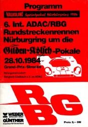 28.10.1984 - Nürburgring