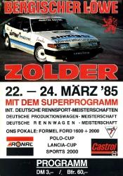 24.03.1985 - Zolder