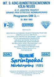 19.05.1985 - Nürburgring