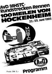 23.06.1985 - Hockenheim