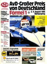 04.08.1985 - Nürburgring