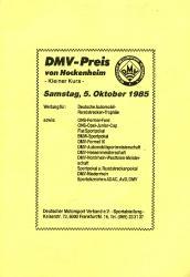 05.10.1985 - Hockenheim