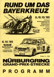 06.10.1985 - Nürburgring