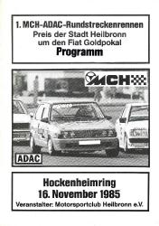 16.11.1985 - Hockenheim