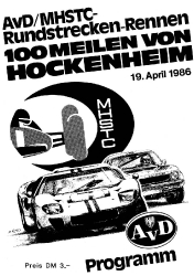 19.04.1986 - Hockenheim
