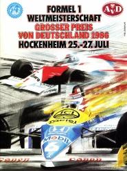 27.07.1986 - Hockenheim