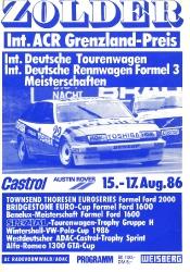 17.08.1986 - Zolder