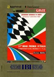 07.09.1986 - Monza