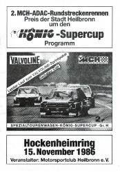 15.11.1986 - Hockenheim