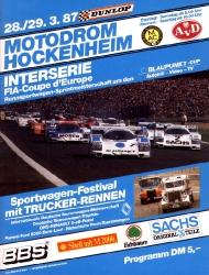 29.03.1987 - Hockenheim