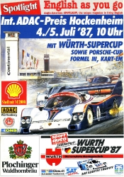 05.07.1987 - Hockenheim