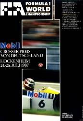 26.07.1987 - Hockenheim