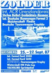 27.09.1987 - Zolder