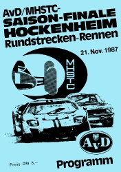 21.11.1987 - Hockenheim