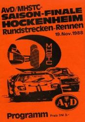 19.11.1988 - Hockenheim