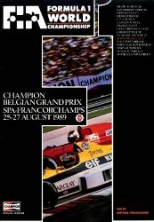 27.08.1989 - Spa-Francorchamps