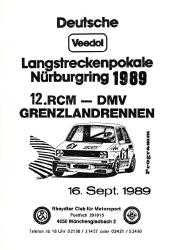 16.09.1989 - Nürburgring
