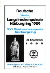 30.09.1989 - Nürburgring