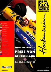 28.07.1991 - Hockenheim
