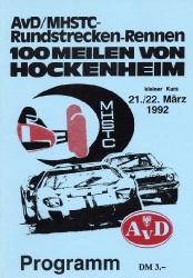 20.03.1992 - Hockenheim